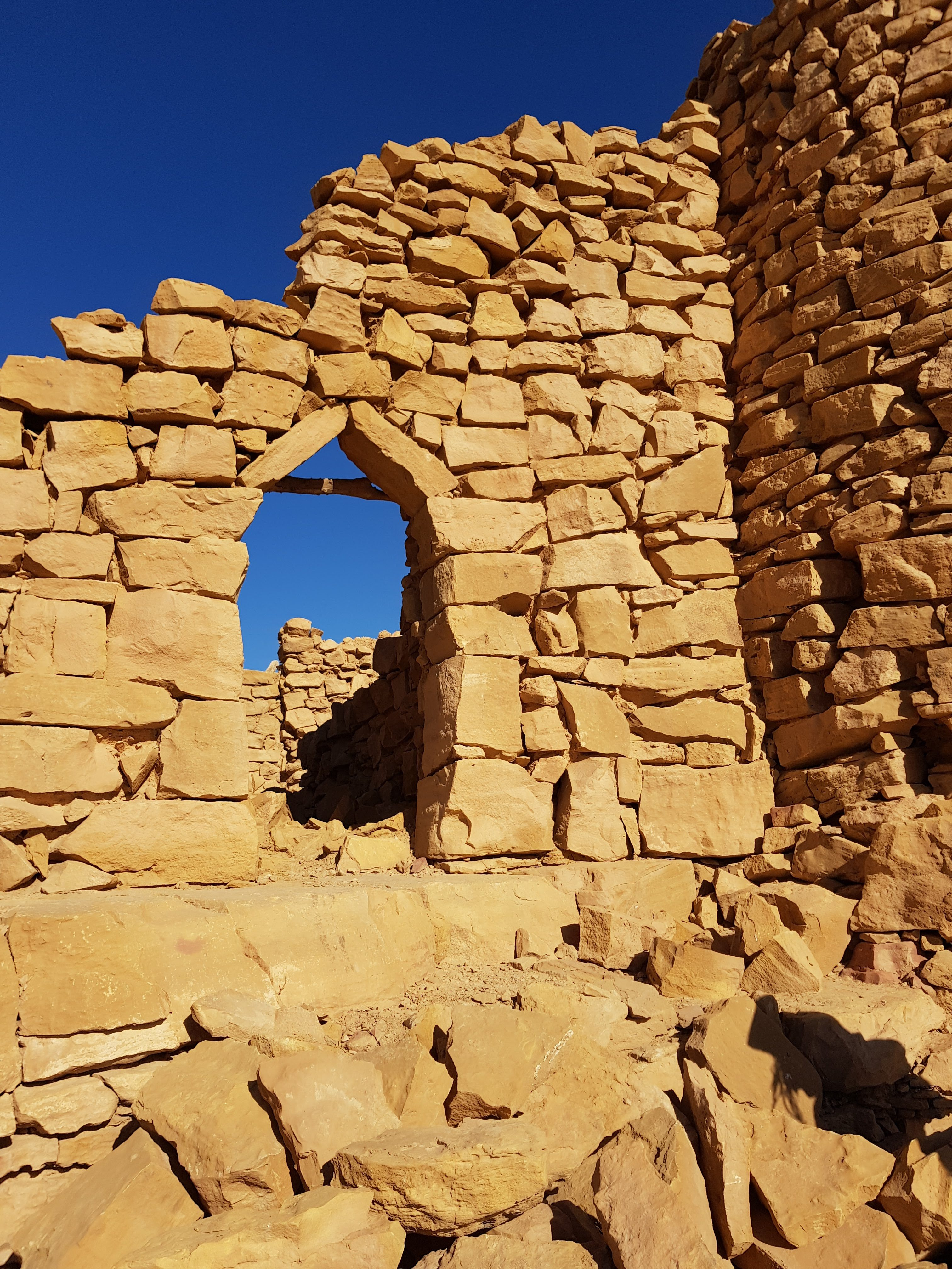 The entry archway to Al Barrah Fort